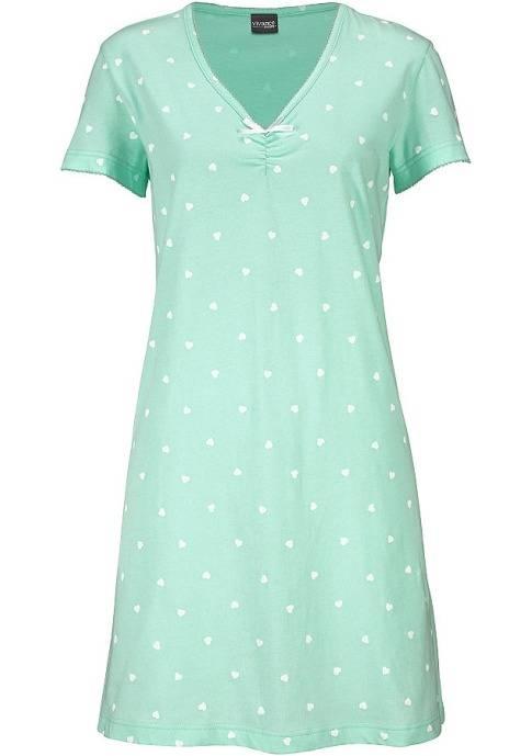 Картинка ночная сорочка с цельнокроеным рукавом