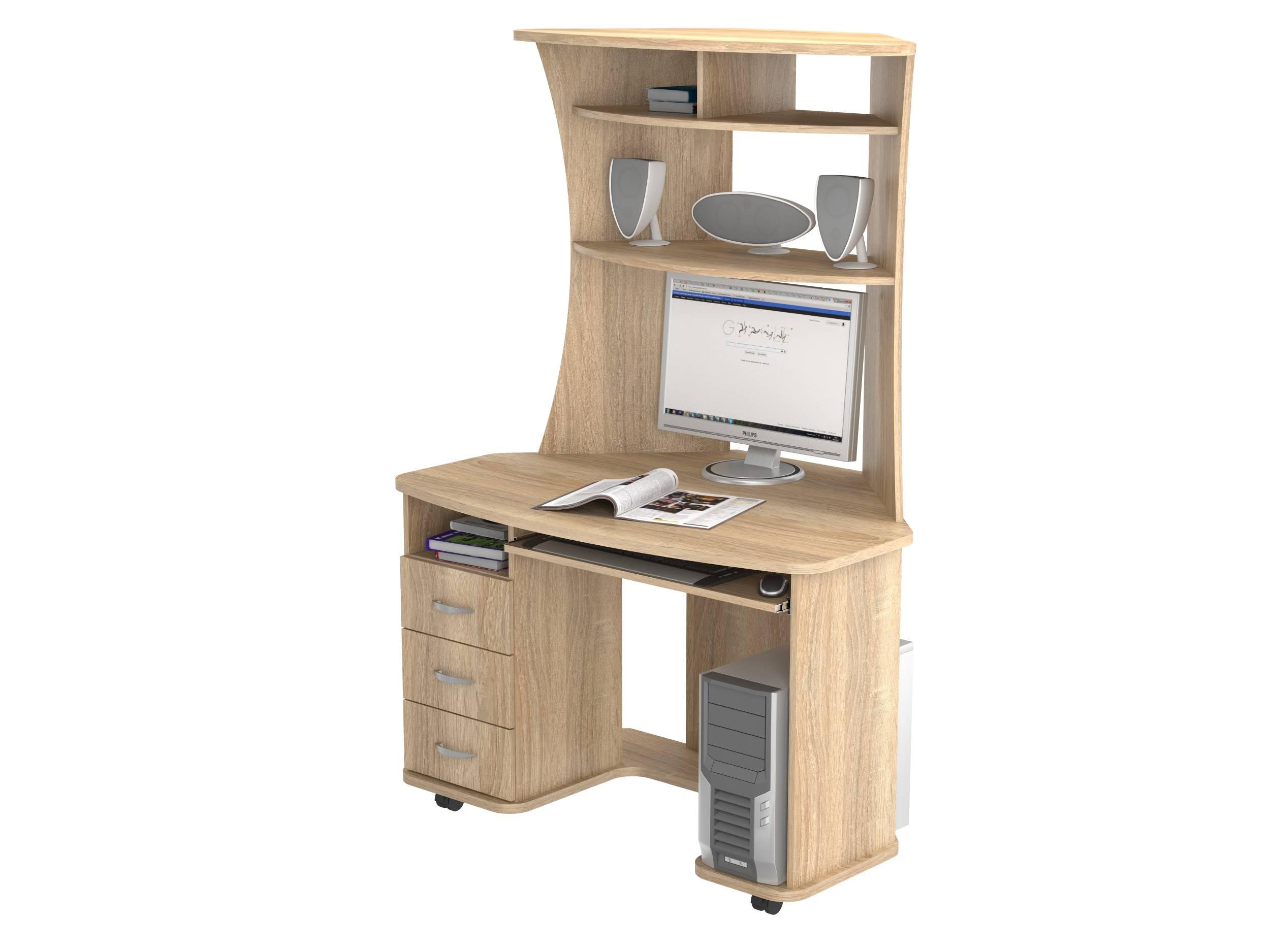 Компьютерный стол васко кс 20-26 - компьютерные и письменные.