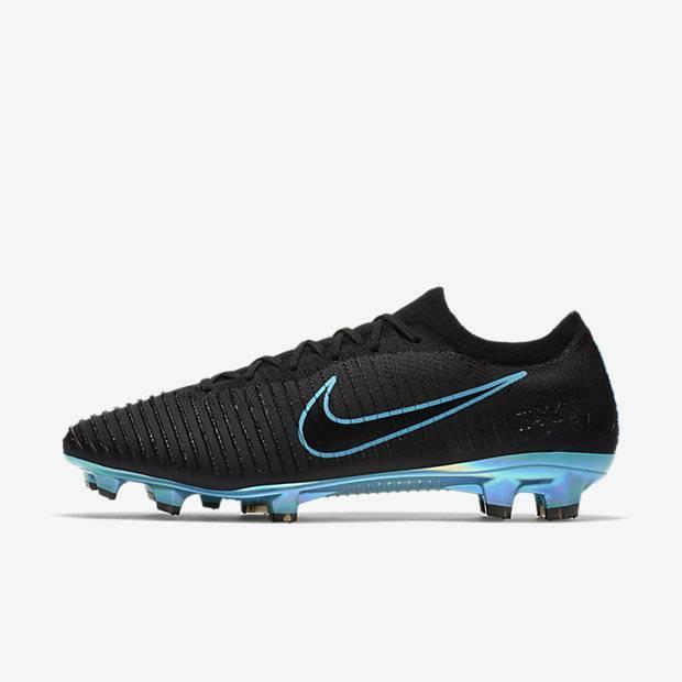 fe4ecc4e Футбольные бутсы для игры на твердом грунте Nike Flyknit Ultra FG для мужчин