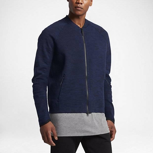 39c8a86c Мужская куртка Nike Sportswear Tech Knit (Синий) (832178-429) купить ...